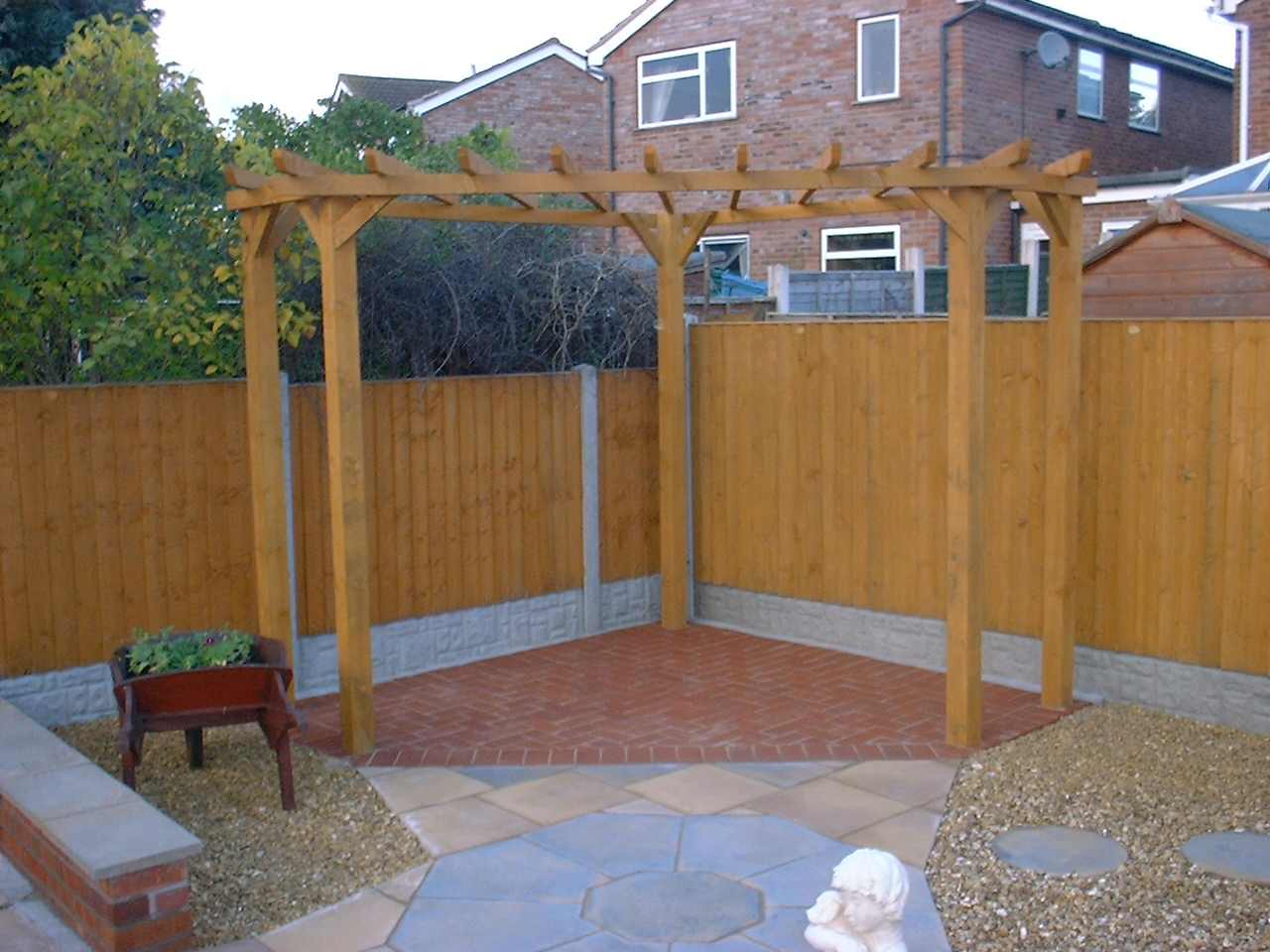 Patio ideas for small yards - Garden Pagoda Arches Amp Arbours Service Telford Shropshire